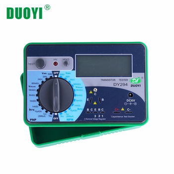 цена на DUOYI DY294 Multifunction Digital Transistor AnalyzerTester Semiconductor Diode Triode 1000V Reverse Voltage Capacitance FET