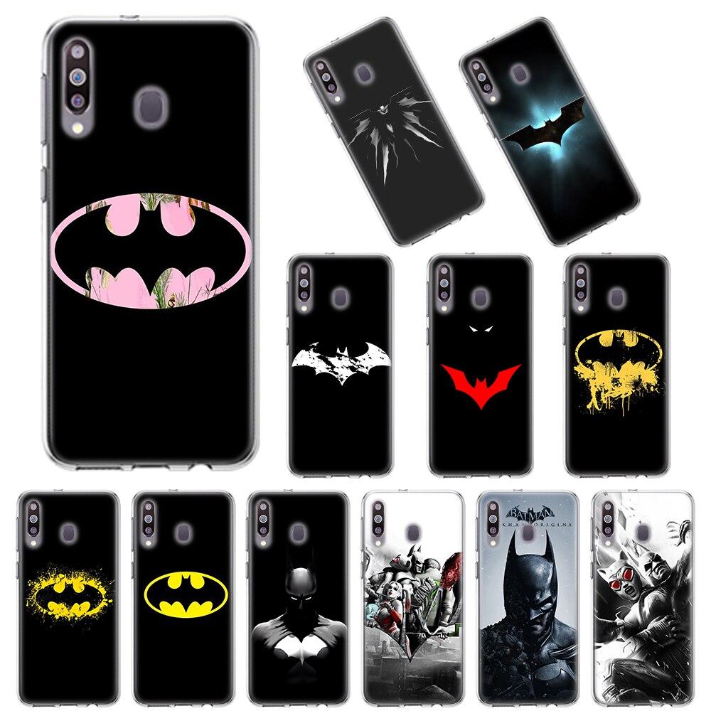 TPU Soft Cases For Samsung Galaxy A10 A10E A20E A20s A30 A40 A50 A70 A11 A41 A51 A71 A91 TPU Cover Batman Logo Marvel Superhero