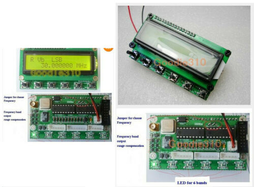 AD9850 DDS Signal Generator HF VFO SSB RIT 6 Bands Transceiver Board DiY kits