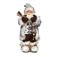 Neue Jahr 2022 Weihnachten Dekorationen für Haus 25 Stil Höhe 30cm Santa Claus puppe kinder geschenke Fenster Ornamente navidad
