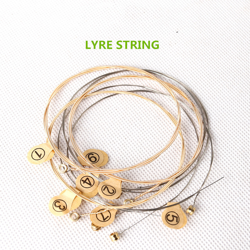 7 String Winch String Small Harp String Instrument Accessories Musical Instrument String Instrument Green Instrument Laiya Piano