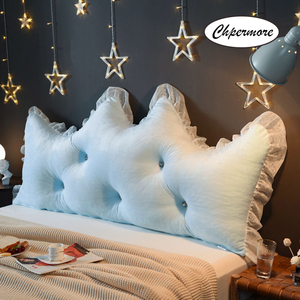 Image 3 - Chpermore 다기능 fallei 크라운 긴 베개 간단한 침대 쿠션 침대 부드러운 현대 단순 침대 베개 잠자는