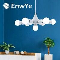 Lámpara EnwYe E27 bombilla LED 220V AC Lampada sala de estar dormitorio hogar Luz