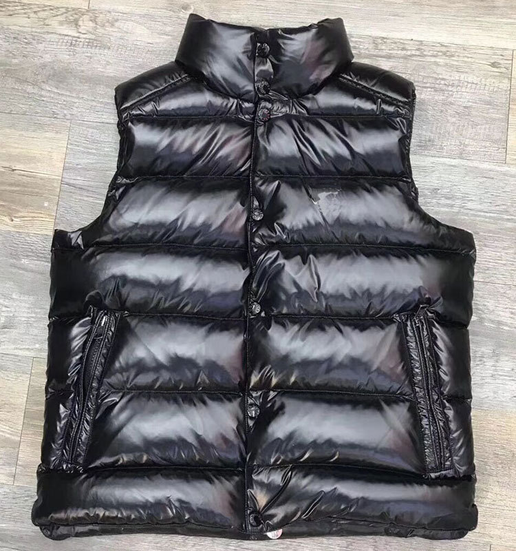 Autumn/winter Men Down Vest Glossy/matT Jacket European Luxury Same Style Plus Size Couples Jacket Women Waistcoat High Quality