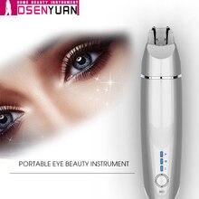 Bb eyes ojo instrumento de belleza masajeador, elimina arrugas varita, reduce las ojeras hinchazón antienvejecimiento aliviar la fatiga ocular