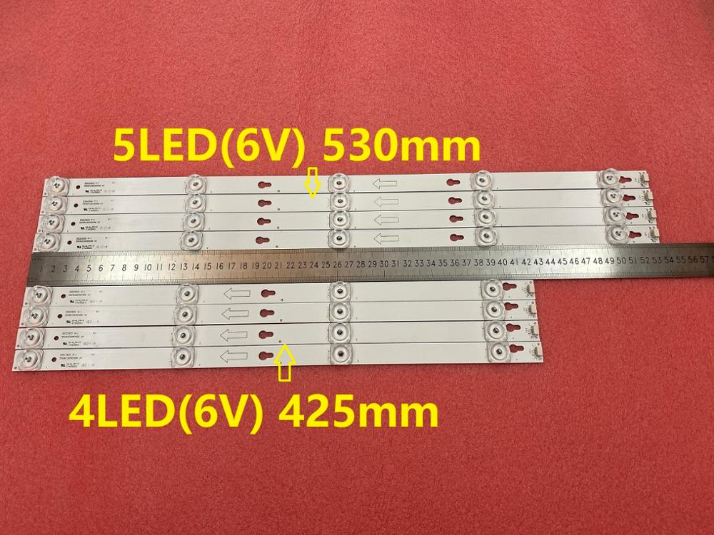 New Kit 8 PCS LED Backlight Strip For L55P2-UDN TOT-55D2900 JL.D55051330-004ES-M JL.D55041330-004ES-M B55A658U 55U6700C 55D2900