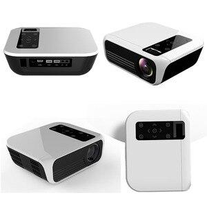 Image 5 - ByJoTeCH T8 โปรเจคเตอร์LED 4500 ลูเมน 1920x1080 โฮมเธียเตอร์Beame 3D Full HD 1080P Amlogic S905 Android proyector VS T6