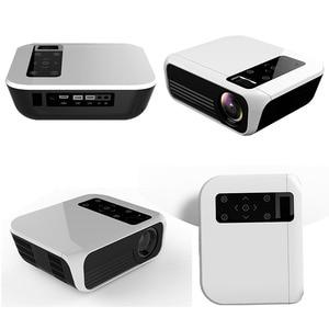 Image 5 - ByJoTeCH T8 projektor LED 4500 lumenów 1920x1080 kina domowego Beame 3D Full HD 1080P Amlogic S905 Android Proyector VS T6
