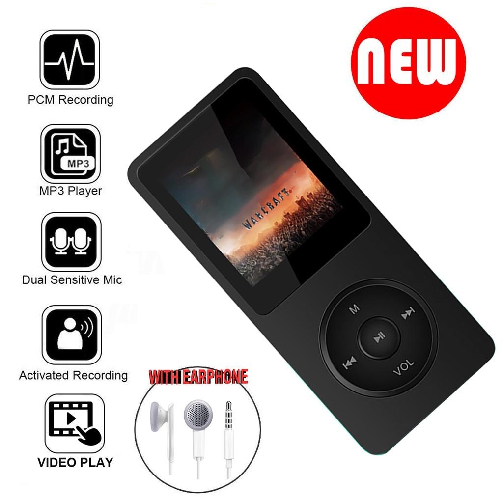16GB MUSIC MEDIA PLAYER MP3//4 PLAYER LCD SCREEN FM VIDEO HIFI 80 Hours Playback