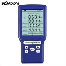 KKMOON Multifunktionale Professionelle CO2 ppm Meter Kohlendioxid Gas Analyzer Detector Mini Protable Air Qualität Monitor