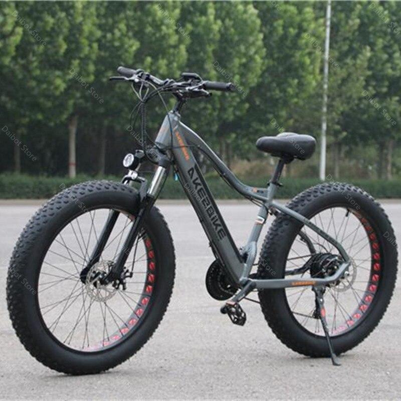 48 в 500 Вт 40 км/ч мощный электрический велосипед 2 колеса электрические велосипеды большие шины внедорожный Электрический горный велосипед съемный аккумулятор        АлиЭкспресс