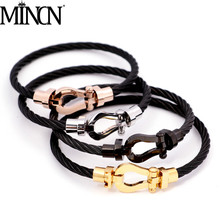 все цены на charm bracelet men stainless steel jewelry bracelet gold bracelets bangles rose gold bracelet  christmas gifts for women