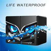 Stereo Desktop Speakers with Compact Size