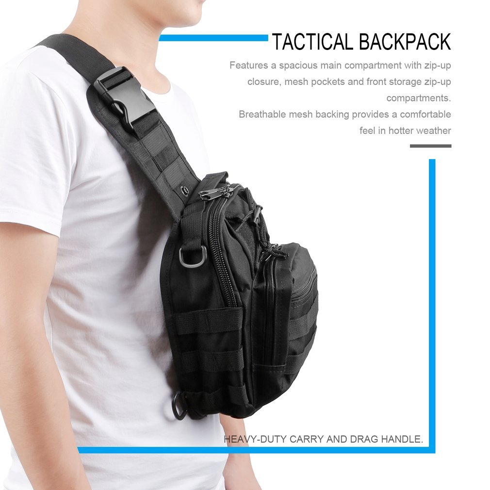 Outdoor Military Shoulder Backpack Rucksacks BagTactical Backpack Climbing Bags For Sport Camping Hiking Traveling Tool