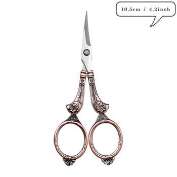 Retro Scissors Antique Vintage Scissors Thread Embroidery Scissors Sewing Supplies Stainless Steel Scissors Tailor Scissors Tool 39