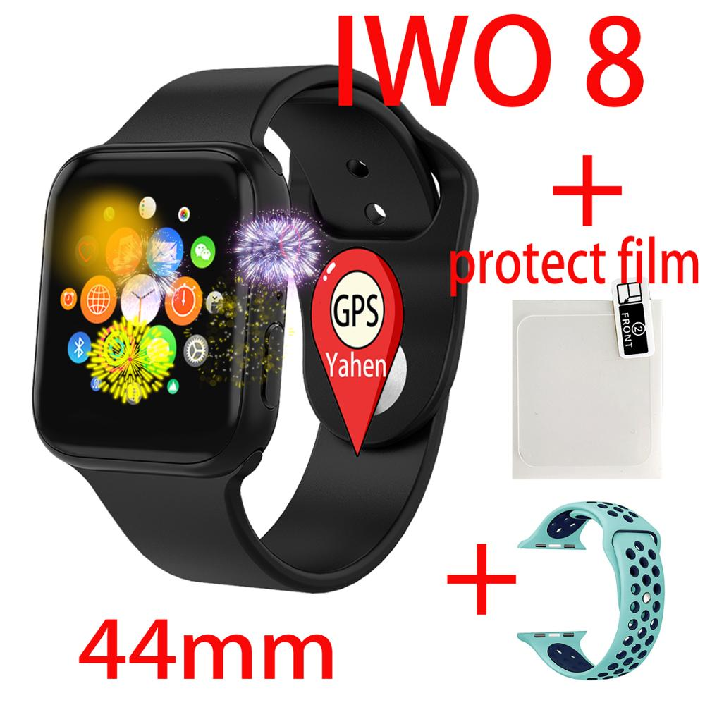 GPS <font><b>iwo</b></font> Smart Watch Series 4 Men Women <font><b>iwo</b></font> <font><b>8</b></font> Heart Rate Monitor Message Reminder For Android Apple PK P80 iwo6 5 <font><b>Smartwatch</b></font> <font><b>44mm</b></font> image