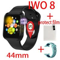 GPS iwo Smart Watch Series 4 Men Women iwo 8 Heart Rate Monitor Message Reminder For Android Apple PK P80 iwo6 5 Smartwatch 44mm