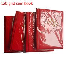 10 страниц 120 сетка Альбом для монет книги монетницы мира хранения