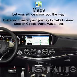 Image 4 - Joyeauto אלחוטי Apple Carplay רכב לשחק Retrofit S Class 15 19 NTG 5 W222 עבור מרצדס אנדרואיד אוטומטי שיקוף אחורי מול CM