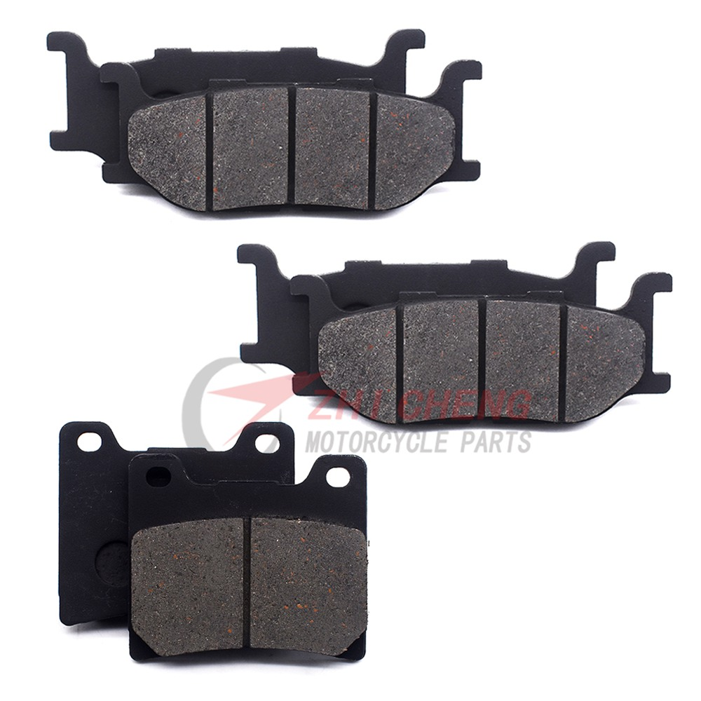 For Yamaha XJ900S XJ900 XJ 900 S 900S Diversion 1995 1996 1997 1998 1999 2000 2001 2002 2003 Motorcycle Front Rear Brake Pads image