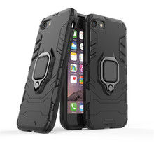 цена на Ring Holder Case For iPhone SE 2020 11 Pro Max Cover Armor Protective Hard Back Phone Bumper For Apple iPhone SE 2020 Case Funda