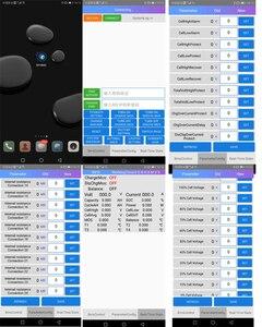 Image 4 - 10 s a 24 s lifepo4 life ion proteção da bateria de lítio 70a/100a/150a/200a/300a inteligente bms bluetooth display lcd 12 s 13 s 14 s 16 s 20 s