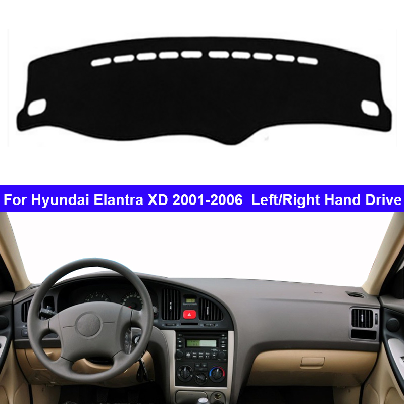 Car Dashboard Cover Dash Mat Carpet Cape For Hyundai Elantra XD 2001 2002 2003 2004 2005 2006 LHD RHD Dashmat Sunshade