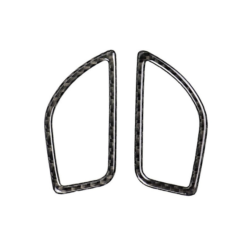 For <font><b>Bmw</b></font> <font><b>F20</b></font> F21 Carbon Fiber Interior Air Conditioning Vent Outlet Trim Cover Car Styling 3D Stickers <font><b>118i</b></font> 1 Series Accessories image