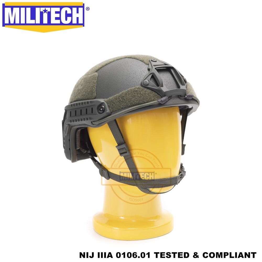 MILITECH балістычны шлем FAST OD Deluxe - Бяспека і абарона - Фота 4