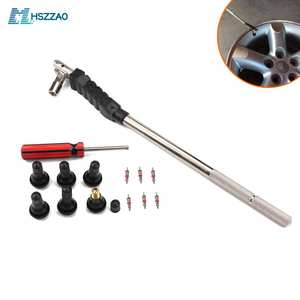 High-end Valve Core Installation Tool + Valve Core + TR413 - For Car, truck With Tubeless Tire Set