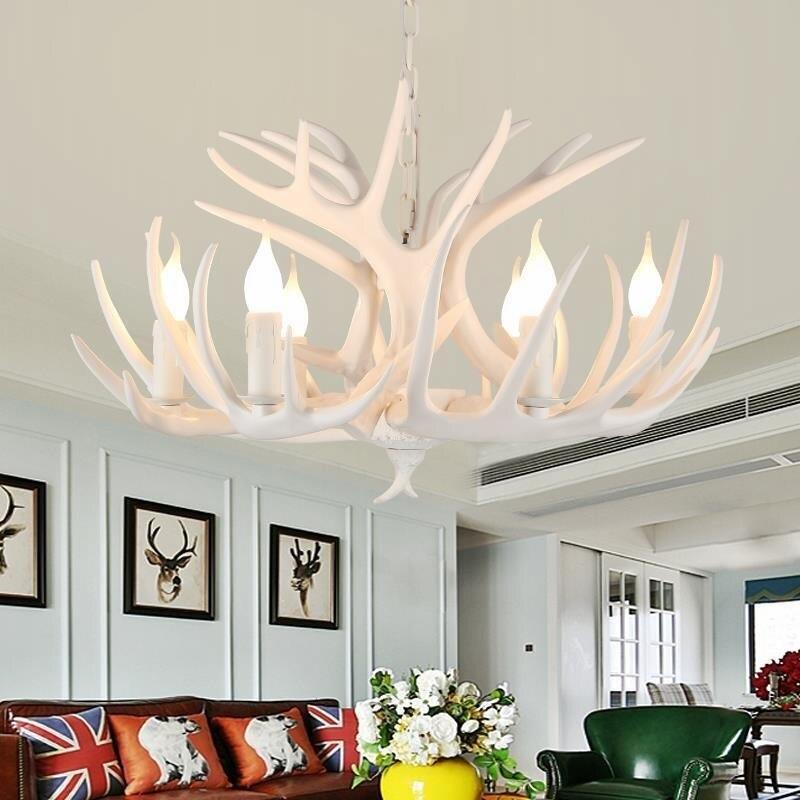 de estar quarto hotel antler led lustre loft vintage retro iluminacao 02