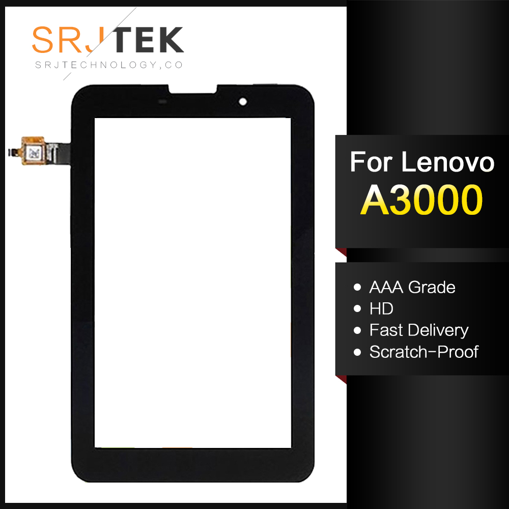 For New Lenovo A3000 A3000-H Replacement Touch Screen Digitizer Glass 7-inch Black White