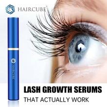 HAIRCUBE Rapid Eyelash Growth Serum Natural Vegan Non Irritating Lash Boost Serum for Longer Fuller Thicker Lashes and Brows