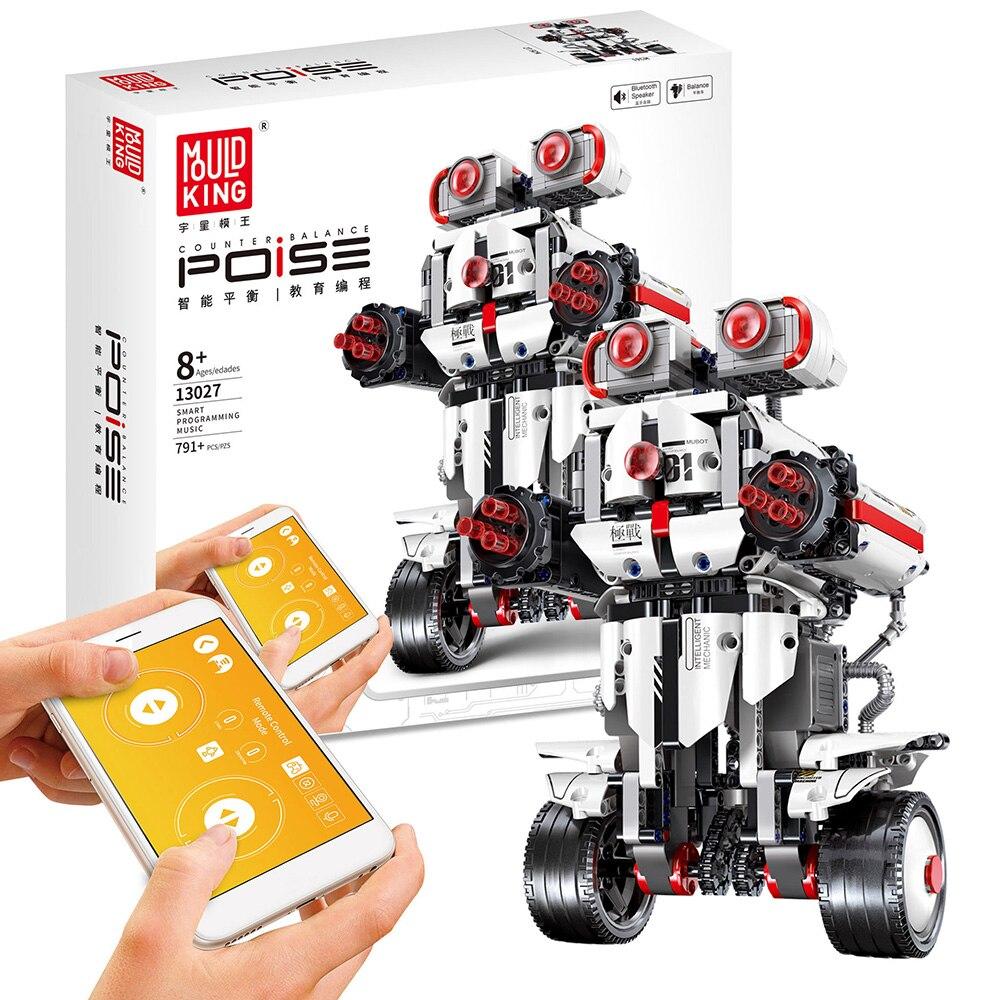 DIY Электрический робот пульт дистанционного управления строительные блоки программируемые Обучающие игрушки полуфабрикат RC Робот Модель ...