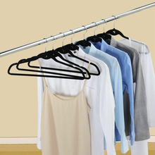 Velvet Hanger Flocking Seamless Clothes Non-Slip Ultra-Thin 360 Degree Wardrobe Decoration Storage