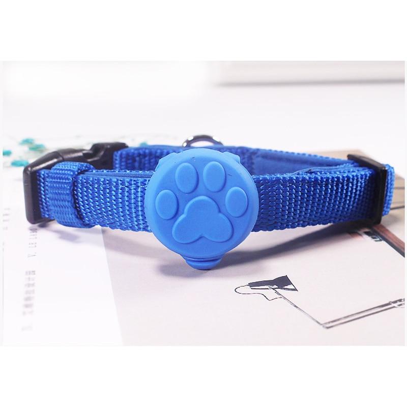 Pet Dog Night LED Flashlight Dog Cat Collar Glowing Pendant Safety Pet Leads Necklace Luminous Bright Decoration Collars For Dog