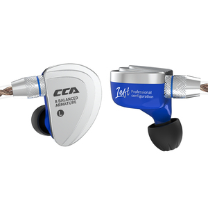 Image 5 - CCA C16 8BA Drive Units In Ear Monitor IEM Earphone 8 Balanced Armature HIFI Earphone Headset With Detachable 2PIN Cable