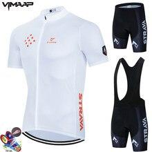 Camisa de ciclismo 2021 verão pro equipe strava bicicleta jérsei kit respirável mtb maillot ropa ciclismo bib shorts men ciclismo roupas