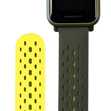 Xiaomi huami amazfit bip lite 스마트 시계 gts gtr (42mm) 용 오리지널 스포츠 시계 스트랩
