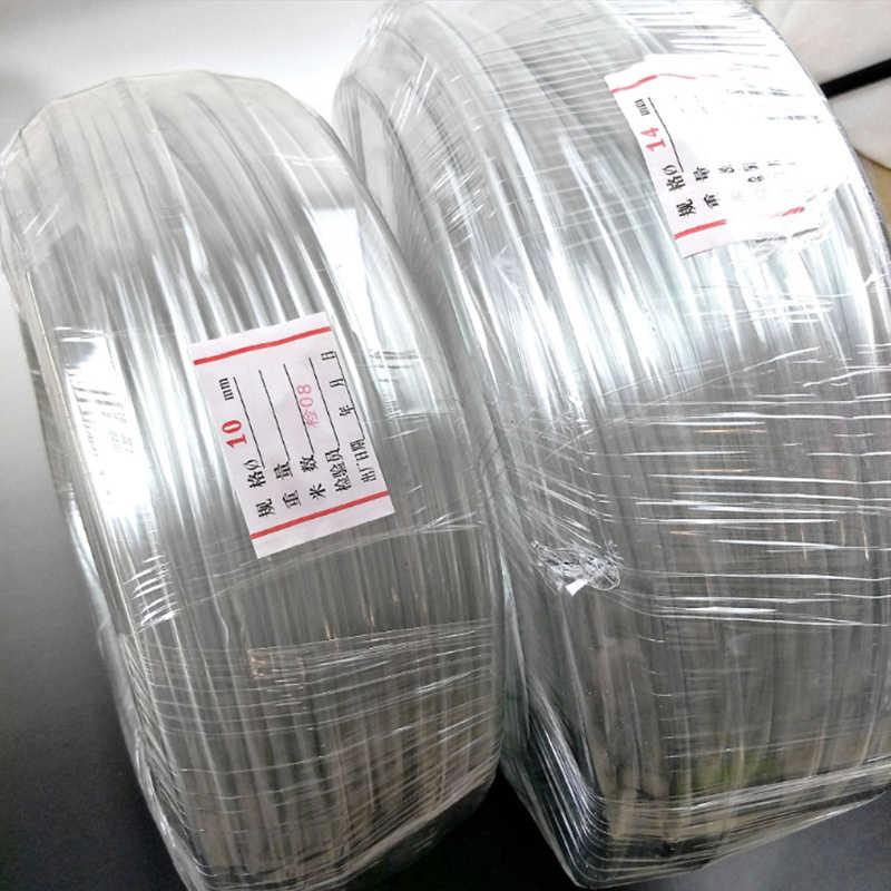 1 メートル 4 ミリメートル 6 ミリメートル 8 ミリメートル 10 ミリメートル 12 ミリメートルの pvc 透明なホースの水空気配管材料プラスチックチューブ水配管パイプ