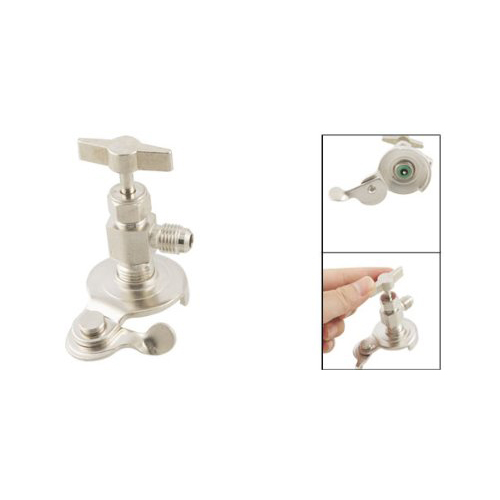 Threaded Can Tap Valve Bottle Opener For R134a/R12 Refrigerant
