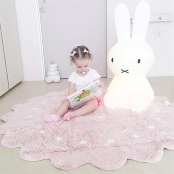 INS Nordic Round Cookies Dot Home Decor Mats Childrens Play Room Soft Pack Shooting Props Toys for Children