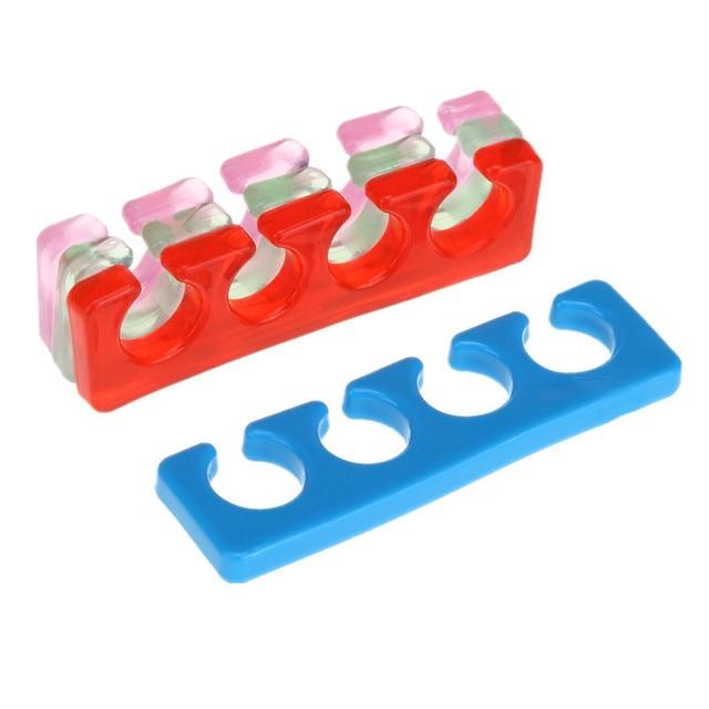 VeryYu 2 Pcs Reusable Silicone Nail/Toe Finger Separator Beauty Tools & Accessories  VerYYu