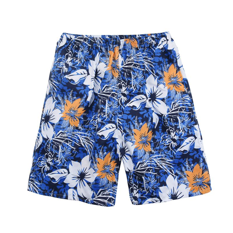 New Summer Casual Shorts Men Printed Beach Shorts Quick Dry Board Shorts Pants 6