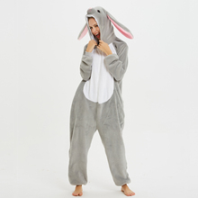 Mashimaro Unisex Adult Animal Pajamas Onesies Cosplay Large Cartoon One-piece Sleepwear Christmas Costume