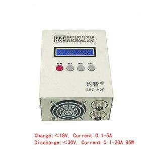 Image 2 - Probador de batería de EBC A20 30V 85W, probador de capacidad de batería de litio/ácido de plomo, carga electrónica, Control de Software de PC