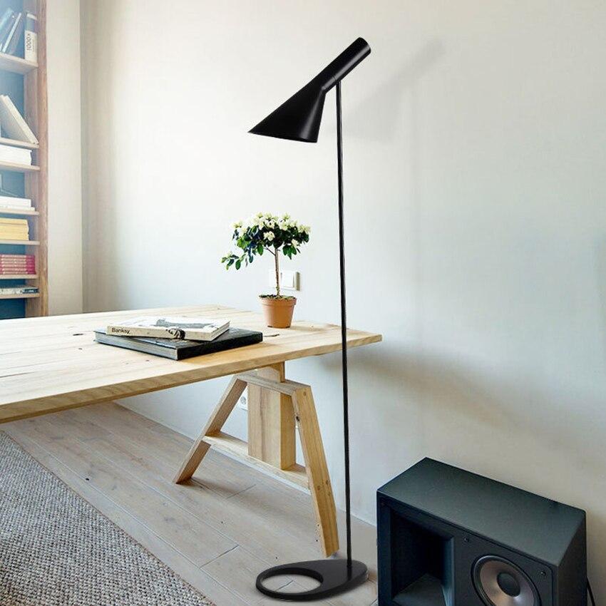 Nordic Arne Jacobsen Design AJ Led Floor Lamps Living Room Floor Lamp Bedroom Bedside Lamp Floor