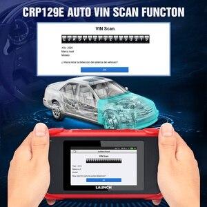 Image 4 - Launch X431 CRP129E OBD2 herramienta de diagnóstico para ENG/AT/ABS/SRS Multi idioma libre actualización CRP123E CRP123 Creader VIII CRP129X