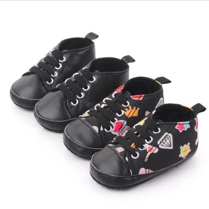 Low Price Baby Shoes Soft Sole Infants Casual Shoes Boys Girls First Walkers Newborn Antislip Sport Shoes Sneakers