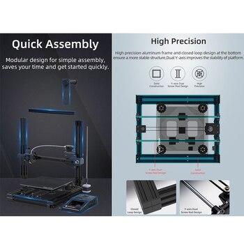 ANYCUBIC Mega-Zero 220X 220X250  DIY 3D Printer desktop 3d printing extruder Metal frame Impresora High Precision  impressora 2